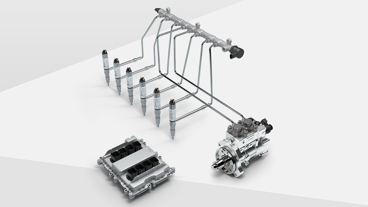 Modular common-rail system for commercial vehicles (CRSN)