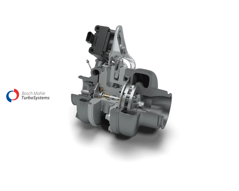 Exhaust-gas turbocharger with wastegate