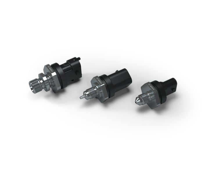 High-pressure sensor for gasoline and CNG systems