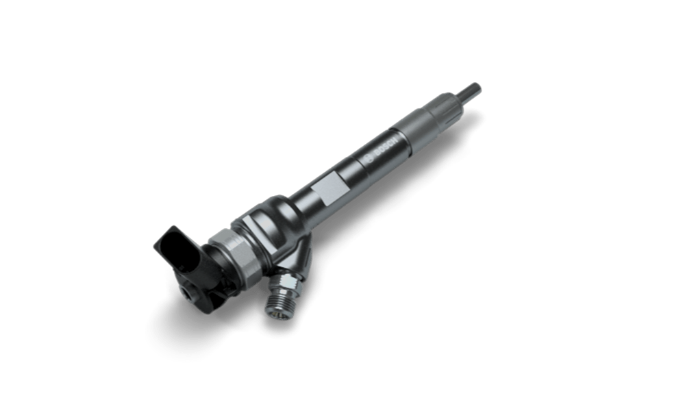 Solenoid valve injector for common-rail systems