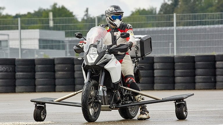 Developments for the future of motorcycle safety