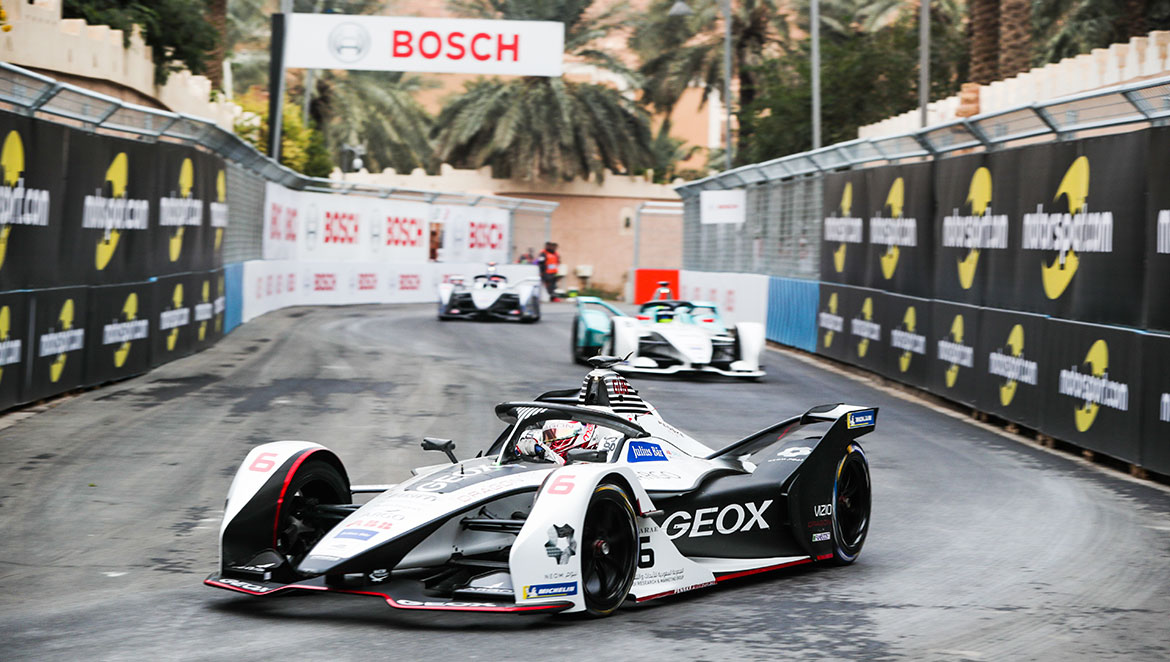 Bosch has been an official partner of the first fully electric racing series since 2018