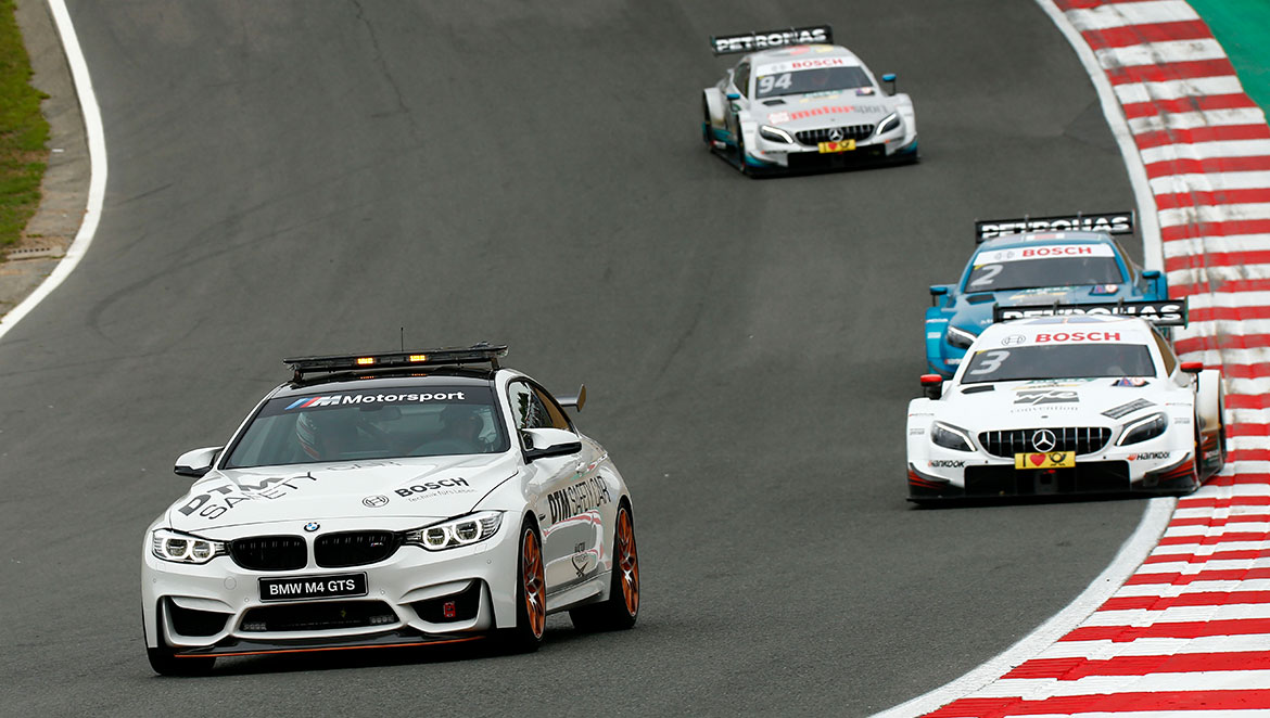 Always on the starting grid – Bosch technology has enriched the DTM since the beginning of the racing series