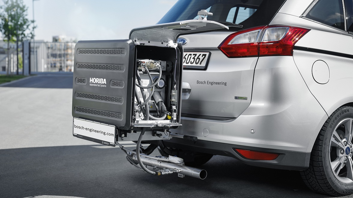 Bosch Engineering RDE test drive