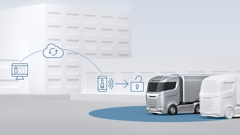 Perfectly keyless for commercial vehicles