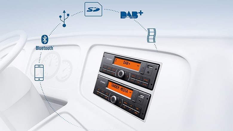 Next generation infotainment for coaches