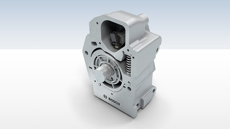 Variable oil pump for commercial vehicles