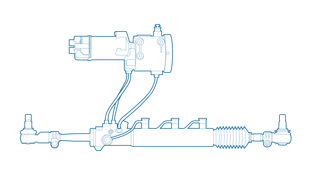 Product details of rear axle steering system