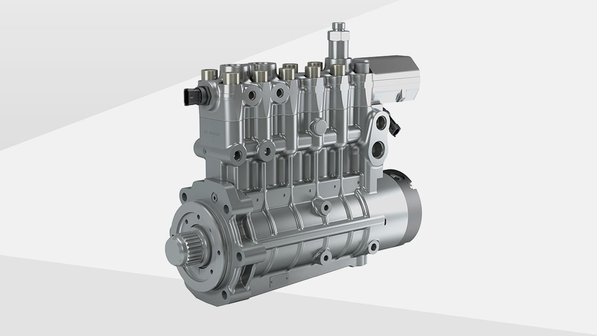 High-performance high-pressure pumps for diesel, gas and dual-fuel engines