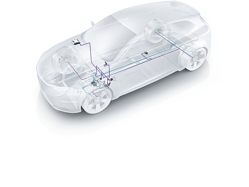 Electronic stability program (ESP®) system components