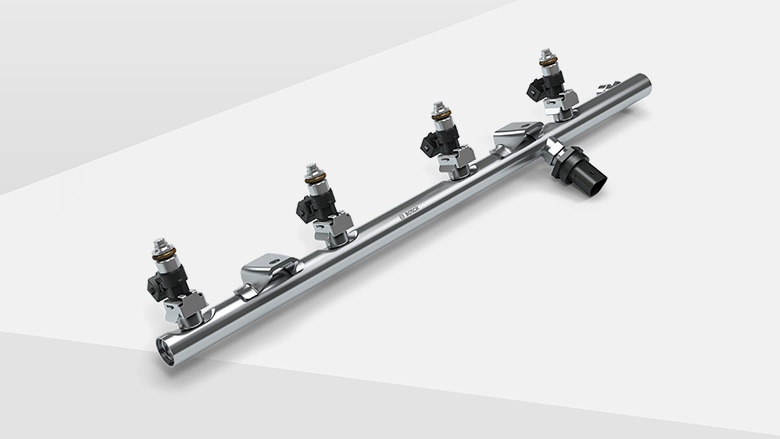 Rugged fuel rail for CNG systems