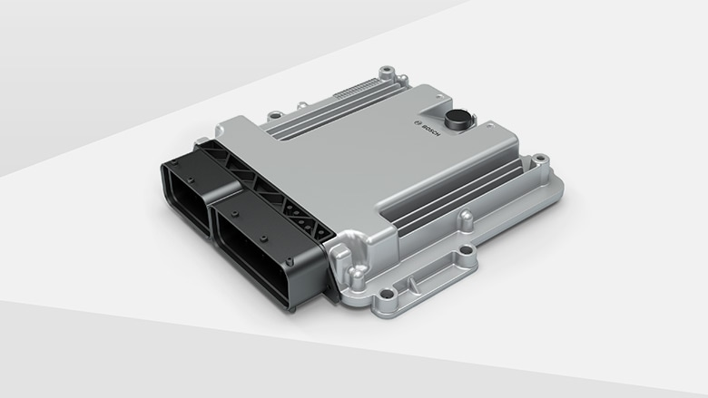Electronic engine control unit for CNG systems