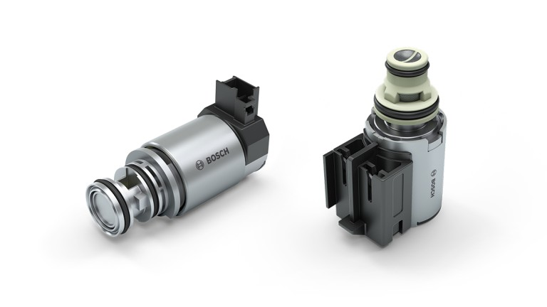 Variable-force transmission solenoid