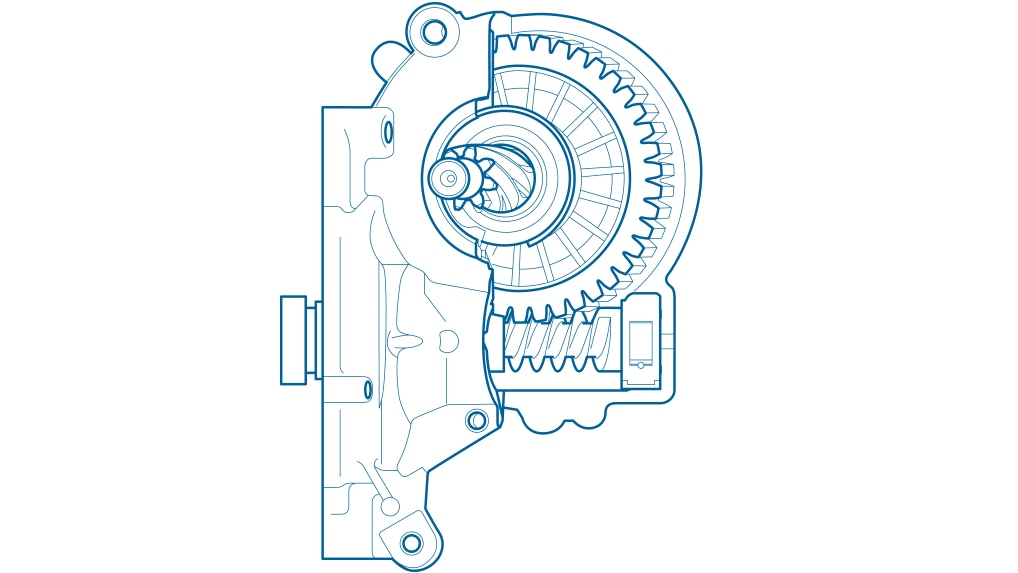 Design of the worm gear