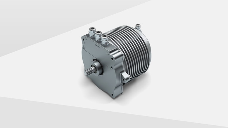Compact central motor